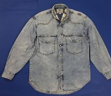 Honkey young bloom camicie shirt uomo usato tg M manica lunga vintage T4565
