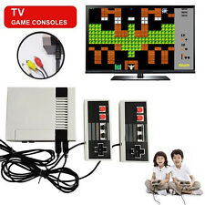 Mini Vintage Retro TV Game Console Classic 620 Built-in Games 2 Controllers US A