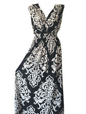 PLUS SIZE Women Long Maxi summer beach hawaiian Boho evening party sundress #10