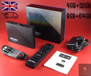 H96 MAX RK3566 TV Box Android 11.0 8K 8GB/64GB Quad core Bluetooth  TV Box WIFI