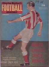 Charles Buchan's Football Monthly Magazine - February 1962