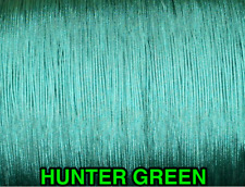 25 YARDS: 1.6 MM, HUNTER GREEN LIFT CORD for ROMAN/PLEATED shades & blinds