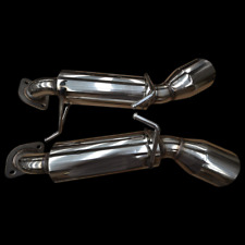 """Performance Exhaust Backboxes (Short Tails) for Nissan 370Z 3.7 V6, Dual 4.5"""""""