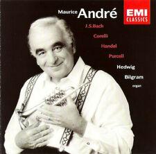 Maurice Andre & Hedwig Bilgram: Bach, Corelli, Handel, Purcell ~ Classical CD