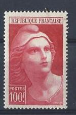 P110- Timbres France 1945-47, 733** avec paille dans la gomme cote * 9,10€.