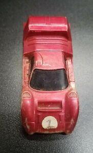 Mattel Hot Wheels Sizzlers Redline Angeleno M-70 Race Car Red