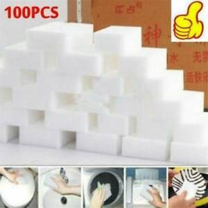 "100X BULK PACK Magic Sponge Eraser Melamine Cleaning Cleaner Foam 3/4"" Thick USA"