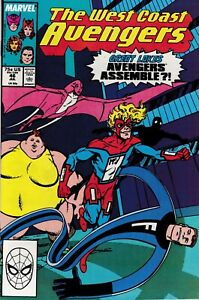 WEST COAST AVENGERS (1985) #46 - Back Issue