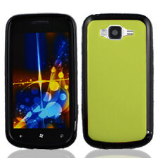 For Samsung Focus 2 i667 TPU Gel GUMMY Hard Skin Case Phone Cover Green Black