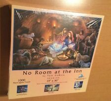 SunsOut 1000 Piece Puzzle No Room In The Inn By Tom duBois (See Description)