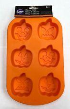 New Wilton Silicone Pumpkin Jack O Lantern Mold for baking, soap, bath bobs, etc