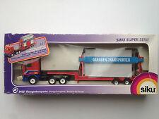 SIKU 3425 Garage transporter LKW Daf Truck 1:55 Garagentransporter New