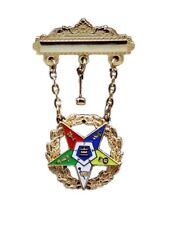 OES Order Eastern Star Past Worthy Matron Masonic Jewel