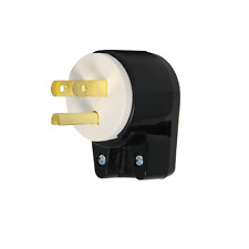 NEMA 5-15 Angled Plug, 10-15A, 250V