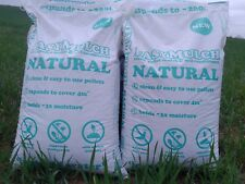 Easymulch Natural Straw Pellet Mulch & Soil Conditioner 2x30l Bags- Each