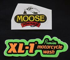 Decals - Moose Racing & Xl-1-Premium Motorcycle Wash
