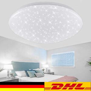 LED Deckenleuchte Sternlicht Sternenhimmel Glitzer-Lampe Wohnzimmer Kinderzimmer