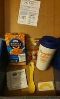 Kraft Pumpkin Spice Macaroni and Cheese Cup Dinner Kit Box Limited Edition