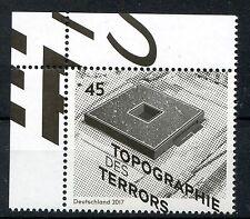 Bund Mi-Nr 3276  Ecke 1 (45) -Topographie des Terrors-  ** Postfrisch 2017