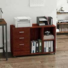 Mobile File Cabinet Storage Withdrawer Amp Shelf Home Office Furniture Printer Stand
