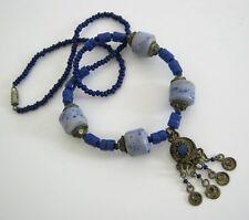 Alte Halskette Lateinamerika mit Sodalith