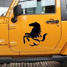 Car Animal Horse Running Door Decal for Wrangler Vinyl Side sticker #CJ71