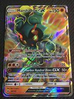 Pokemon : SM BURNING SHADOWS MARSHADOW GX 80/147 ULTRA RARE