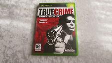 XBOX True Crime jeu vidéo complet en boite Français