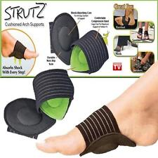 Strutz* like Arch Support Flat Feet Foot Fallen Plantar Fasciitis Insole Heel UK