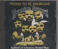 PROUD TO BE ABORIGINE CD RARE OOP Australia Indigenous Tjapukai Dance Theatre EX