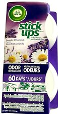 1 pk 2Ct Air Wick Stick Ups Small Spaces Solid Air Freshener Lavender Chamomile