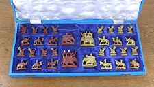 schönes altes Schachspiel Speckstein ca.50er Jahre (vermutl. Rajasthan Indien)