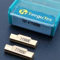 TDT4 TT9080 4mm wide CNC lathe insert cutting tool carbide turning blade 10Pcs