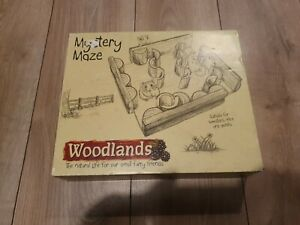 Wooden Maze For Hamsters, Mice And Gerbils