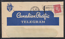 Canada Sc 287 on 1951 Canadian Pacific Railroad Cover