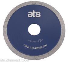 ATS Porcelain & Ceramic Tile Continuous Rim Diamond Cutting blade disc UK seller