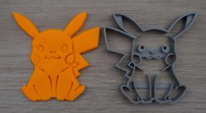 Pikachu Pokemon Cookie Cutter Fondant Cutter