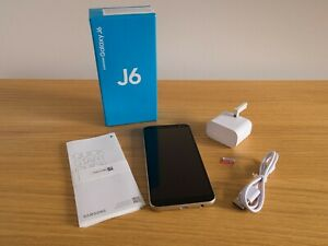 Samsung Galaxy J6 SM-J600 - 32GB - Gold (Unlocked) + Bonus Samsung 64GB SD Card