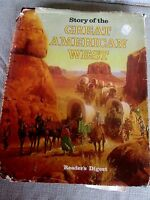 """""""STORY OF THE GREAT AMERICAN WEST""""    READER'S DIGEST    HARDCOVER !!"""