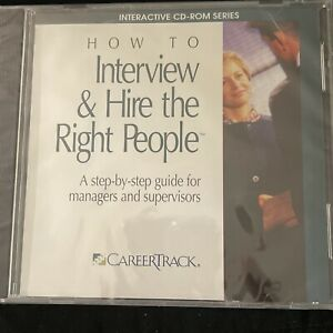 How To Interview & Hire The Right People PC CD - Brand New  **Factory Sealed**