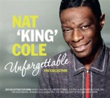 Nat King Cole Unforgettable The Collection Double CD Unopened