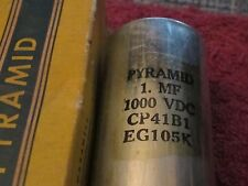 Pyramid 1. MF uf 1000 dc vdc CP41B1 EG105K Capacitor in box
