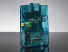 Case in plastica blu per prodotti informatici