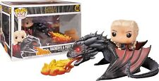 Funko 45338 Pop Rides Game of Thrones - Daenerys on Fiery Drogon Collectible F