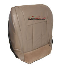 Driver Side Bottom Replacement Leather Seat Cover Tan For 1999 Toyota 4-Runner
