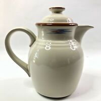 Noritake Raindance Coffee Tea Pot & Lid Stoneware