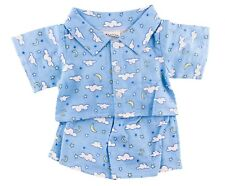 """Blue Pajamas Outfit Fits Build A Bear Workshop 12"""" - 16"""" Teddy Bears Clothes"""
