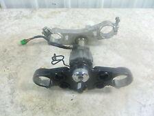 04 Suzuki GSX1300 R GSX 1300 Hayabusa Triple Tree Fork Shock with Ignition Key