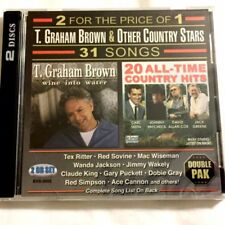 Brand New Cd ~ T. Graham Brown & Other Country Stars ~ 31 Songs on 2 Disc ~New
