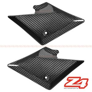 2003-2005 SV1000 / S Carbon Fiber Lower Driver Seat Side Frame Fairing Cowling